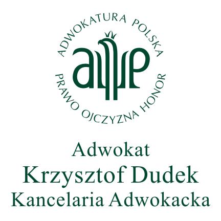 Adwokat Krzysztof Dudek Kancelaria Adwokacka
